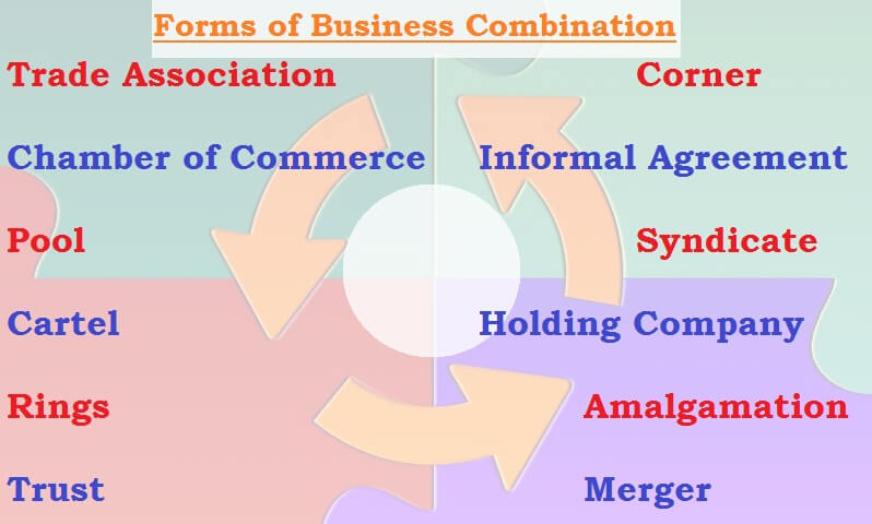 forms of business combination