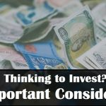 factors to consider before making investment