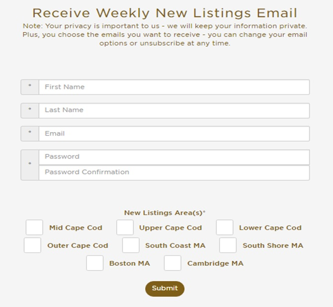Email Listing