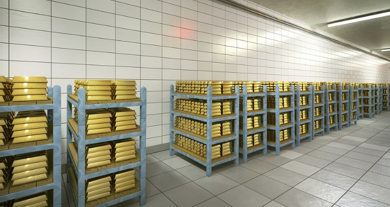 how to store gold
