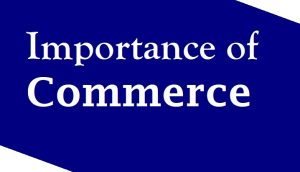 Importance of Commerce
