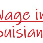 Wage in louisiana